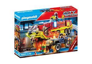 Playmobil City Action - 70557 Feuerwehreinsatz mit Löschfahrzeug - Neu & OVP