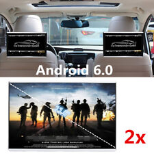 "2x 11.6"" HD Android 6.0 Car Rear Seat Radio Monitor Touchpad Wifi HDMI Blueteeth"