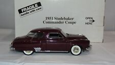Danbury Mint 1951 Studebaker Commander Coupe 1:24 L@@K!!  Please Read