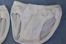 2 Baby Boy Kids white baptism underwear shorts bloomers diaper nappy cover