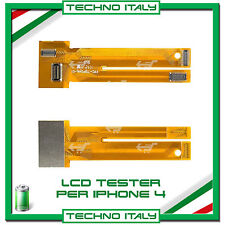 NOVITA' TESTER TEST LCD DISPLAY TOUCH SCREEN SCHERMO CAVO FLATPER  IPHONE 5