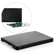 """Black Mini pcie PCI-E mSATA SSD to 2.5"""" SATA3 Convertor Adapter Card SSD Case"""