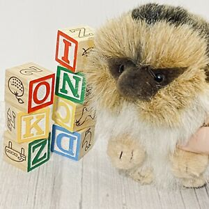 "NEW with TAG Hansa Hedgehog 8"" Plush Stuffed Animal Hand Made #3101"
