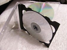 *Lot of 59 NEW Triple 3 CD DVD jewel case, black with front literature holder