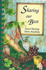 *ITASCA MN 1993 NURSING HOME AUXILIARY *SHARING OUR BEST COOK BOOK *LOCAL ADS