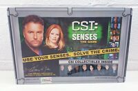 CSI Crime Scene Investigation Senses The Game With Collectable Figures New