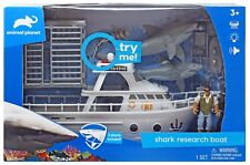 Animal Planet Shark Research Boat Playset