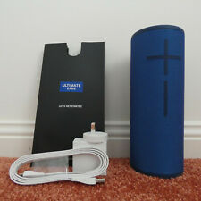 Ultimate ears Megaboom 3 portable Bluetooth speaker in Blue as new condition.