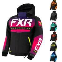 FXR Racing Helium Youth Snowmobile Jacket Gives You The Stylish Look While Sn...