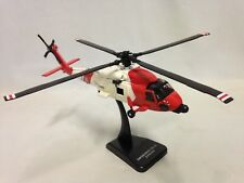 U.S. Coast Guard, Sikorsky HH-60J Jayhawk Helicopter, 1:60 Diecast, New Ray Toys