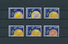 LM40416 Luxembourg euro coins currency fine lot MNH