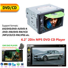 "6.2"" 2Din Car Bluetooth Stereo DVD CD Player Radio FM AUX USB TF Mirror Link"