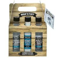 Technic Man Stuff Ultimate 6 Pack Bath/Body Xmas Toiletry Gift Set  999702
