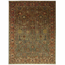 5' x 8' Karastan Machine Woven Area Rug Myanmar Aquamarine Multi Traditional