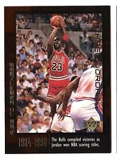 Michael Jordan 1999 Upper Deck RISE TO GREATEST SCORING TITLES Basketball Card