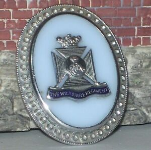 The Wiltshire Regiment sweetheart brooch