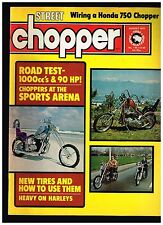 STREET CHOPPER AUGUST 1975  CONTENT 70's BAY AREA DIGGER STYLE CUSTOM CHOPPERS