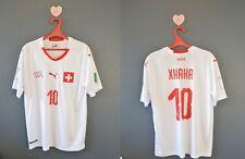 Switzerland Xhaka # Football National Soccer Mens Shirt Jersey Replica Size M
