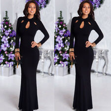 Women Evening Formal Cocktail Party Ball Gown Fishtail Mermaid Long Maxi Dress