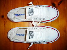 CONVERSE ALL STAR WHITE TRAINING ELASTIC LAID BACK SHOES LADIES SIZE US 6 NEW