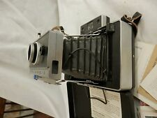 Vintage POLAROID LAND CAMERA AUTOMATIC 100 Folding Camera Excellent + acessories
