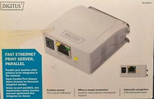 Digitus DN-13001-1 Fast Ethernet Print Server Parallel