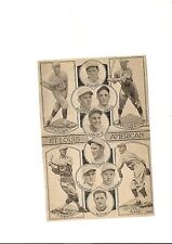 Browns 1926 Team Picture Bobby LaMotte Claude Jonnard Joe Giard Cedric Durst