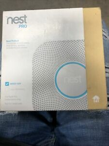 Nest PRO Nest Protect Smoke & Carbon Monoxide Alarm S3005PWLUS White NEW