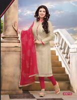 Indian Pakistani Bollywood Designer Ethnic Salwar Kameez Suit  Dress  2