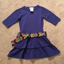 American Girl Doll SAIGE/'S DRESS for GIRLS dress SIZE 6 BELT match sage