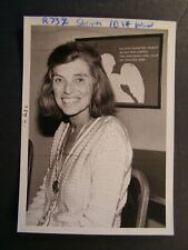 Glossy Press Photo 1982 Eunice Kennedy Shriver is Founder of Special Olympics