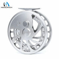 """Maxcatch Center Pin Floating Fishing Reel Super Smooth Float Reel 4 1/2"""" 110mm"""