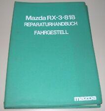 Werkstatthandbuch Mazda RX-3 818 Fahrgestell Getriebe Bremsen Stand 1973!