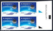 ITALIA 1 QUARTINA DI S. MARCO SATELITE ITALIANO 2014 nuovo**