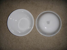 Two Corning Corelle FRIENDSHIP (Blue Flower) cereal bowls