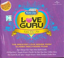 LOVE GURU - LOVE ON AIR - 91.1 FM RADIO CITY - BRAND NEW 2 CD'S SONGS SET