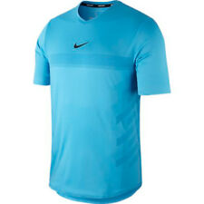 Nike NikeCourt RAFA Aeroreact Tennis Shirt - Sz Medium - 888206-438 - Blue