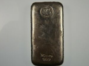 Perth Mint 10oz 999 Silver Cast Bullion Bar