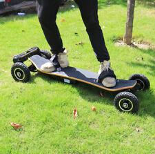"""3300W Motors Super Off Road Electric Skateboard 25MPH 46"""" inch Longboard Adults"""