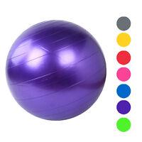 NEW 55CM Exercise Fitness GYM Smooth Yoga Exercise Balance Balls For Yoga Sports