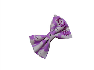 HALLOWEEN Personalised Dog Cat Bow Tie - GHOSTS