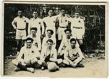 PHOTO ANCIENNE - SPORT FOOTBALL ÉQUIPE ETOILE - TEAM STAR - Vintage Snapshot