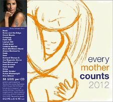 Every Mother Counts 2012 Starbucks CD NEW Bowie Vedder U2 Dave Matthews Coldplay