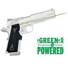 Crimson Trace Green Lasergrips for 1911 Full-Size Pistols - LG-401G