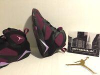 Sz 3Y Mulberry Nike Air Jordan Retro 7 GG Pre Owned