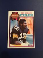1979 Topps #351 RON JOHNSON Pittsburgh Steelers EXT