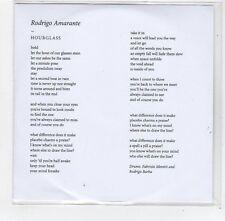 (FE379) Rodrigo Amarante, Hourglass - DJ CD