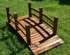 Ponticello per arredamento giardino piscina ponte in legno misure 150x60