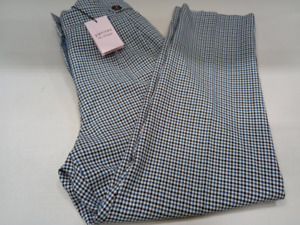 Miss Selfridge petite dogtooth check Trousers Pants Size4 new with tags freepost