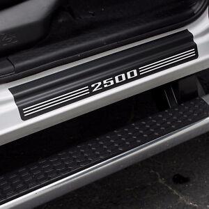 """Door Sill Plate Protectors """"2500"""" fits Dodge Ram Quad Cab Truck 2500 2012 - 2021"""